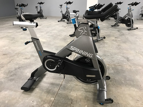 Tuscarawas County YMCA Spin Bike used for classes