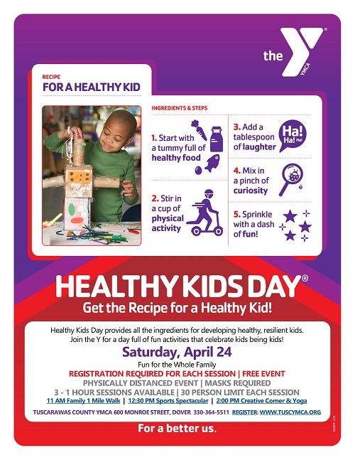 Healthy Kids Day Saturday, April 24 Register Today!