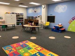 Tuscarawas County YMCA Child Watch Babysitting Coloring and Reading Corner
