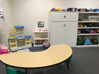 Tuscarawas County YMCA Child Watch Babysitting Kitchen Play Area